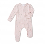 Pink Sheep Ruffled Footie Sleeper, 6-9 Months
