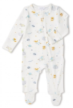 Space Explorer Footie Sleeper, 6-9 Months