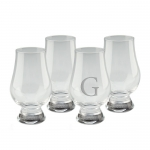 Glencairn Whiskey Glasses - Personalized, Set of 4
