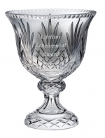 Durham Footed Crystal Bowl