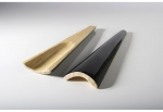 Large Black Bamboo Lacquered Salad Server