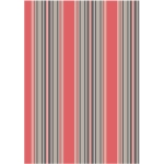 Sombrilla Coral Stripe Kitchen Towel