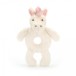 Bashful Unicorn Ring Rattle/Grabber