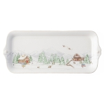 North Pole Hostess Tray