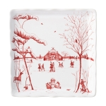 Winter Frolic Mr. & Mrs. Claus Sweets Tray