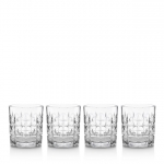 Vintage Odeon Double Old Fashioneds, Set of 4