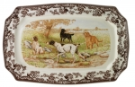 Woodland All Dogs Rectangular Platter