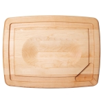Maple Reversible Pour Spout Cutting Board, Small