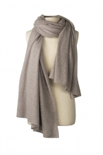 Oatmeal Cashmere Travel Wrap