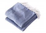 Monhegan Navy Throw