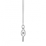 Mini Bridle Key Necklace