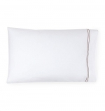 Grande Hotel White/Grey King Pillowcase, Pair