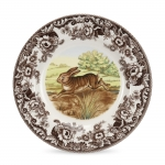 Woodland Rabbit Dinner Plate