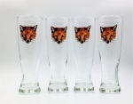 Fox Mask Pilsners, Set of Four