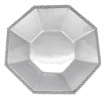 Pearled Octagonal Serving Bowl