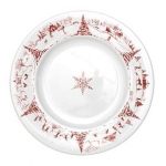 Ruby Country Estate Round Dinner Plate
