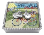Bicycle Beaded Cocktail Napkin Box