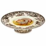 Woodland Turkey Footed Cake Stand