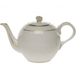 Golden Edge Tea Pot