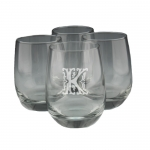 Stemless Wine Glasses - Personalized, Set of 4