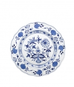 Blue Onion Salad Plate