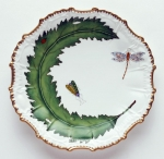Green Leaf Star Plate