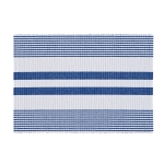 Classic Stripe Blue and White Placemat