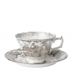 Platinum Aves Tea Cup