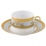Orsay Powder Blue Tea Cup Saucer