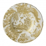 Gold Aves Rim Soup Bowl