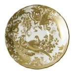 Gold Aves Cream Soup Cup Saucer