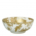 Gold Aves Salad Bowl