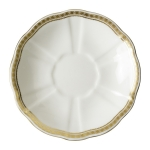 Carlton Gold Cream Soup Saucer