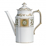 Derby Panel Green Coffee Pot
