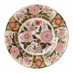 Imari Accent Pink Bouquet Plate