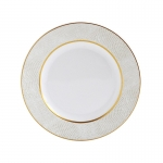 Sauvage White Salad Plate