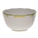 Princess Victoria Green Round Bowl