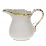 Princess Victoria Green Creamer