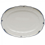 Princess Victoria Blue Oval Platter