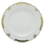 Princess Victoria Grey Salad Plate
