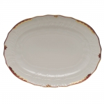 Princess Victoria Raspberry Oval Platter