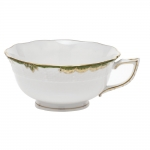 Princess Victoria Dark Green Tea Cup