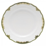 Princess Victoria Dark Green Bread and Butter Plate