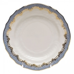 Fish Scale Light Blue Bread and Butter Plate