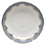 Fish Scale Light Blue Canton Saucer