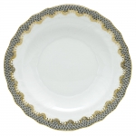 Fish Scale Gray Salad Plate