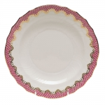 Fish Scale Pink Salad Plate