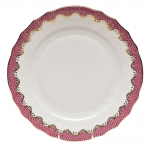 Fish Scale Pink Dinner Plate