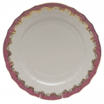 Fish Scale Pink Dessert Plate