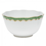 Fish Scale Jade Round Bowl